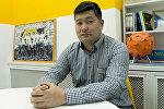 Директор по развитию и коммуникациям компании, занимающейся автомобильными парковками в Бишкеке, Самат Сакбаев