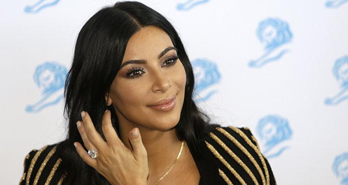 Звезда американских реалити-шоу Ким Кардашьян. Архивное