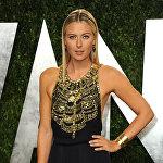 Теннисистка Мария Шарапова на ежегодном вечере Vanity Fair Oscars Viewing