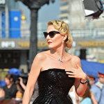 Актриса, сценарист и режиссер Рената Литвинова на церемонии закрытия 35-го Московского международного кинофестиваля