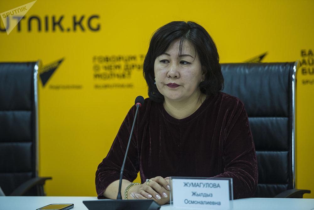 Консультант по лекарственной политике Министерства здравоохранения КР Жылдыз Жумагулова
