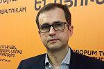 Представитель Всемирной организацией здравоохранения в Армении Егор Зайцев