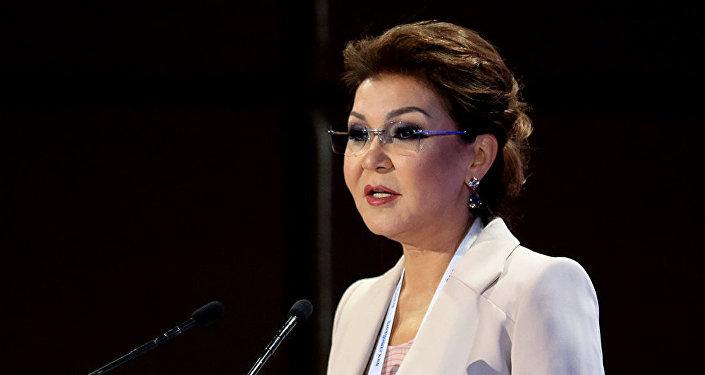 Казакстандын парламент сенатынын төрайымы Дарига Назарбаева. Архивдик сүрөт
