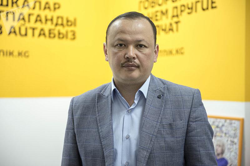 Депутат ЖК 6 созыва Улан Примов от фракции СДПК. Архивное фото