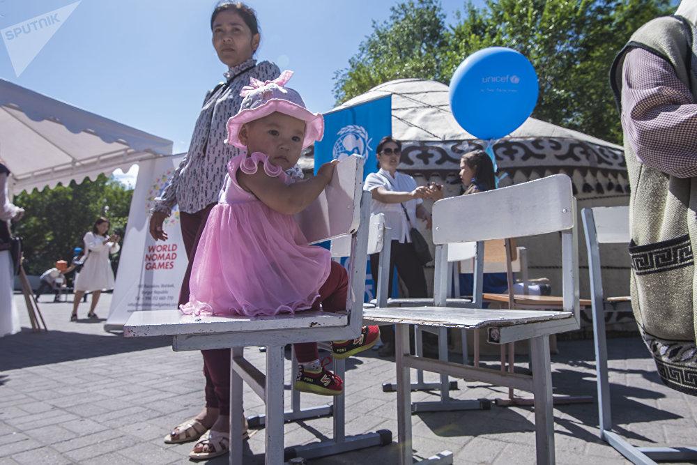 Бишкек мэриясы Балдарды коргоонун эл аралык күнүнө бир катар иш-чараларды уюштурду