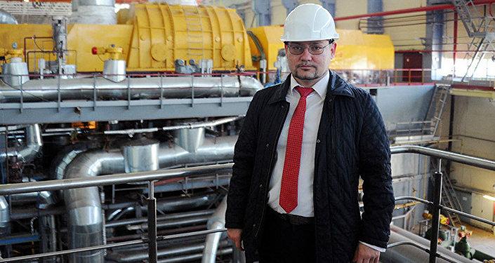 Начальник информационно-аналитического отдела ГПО Белэнерго Александр Мальков. Архивное фото