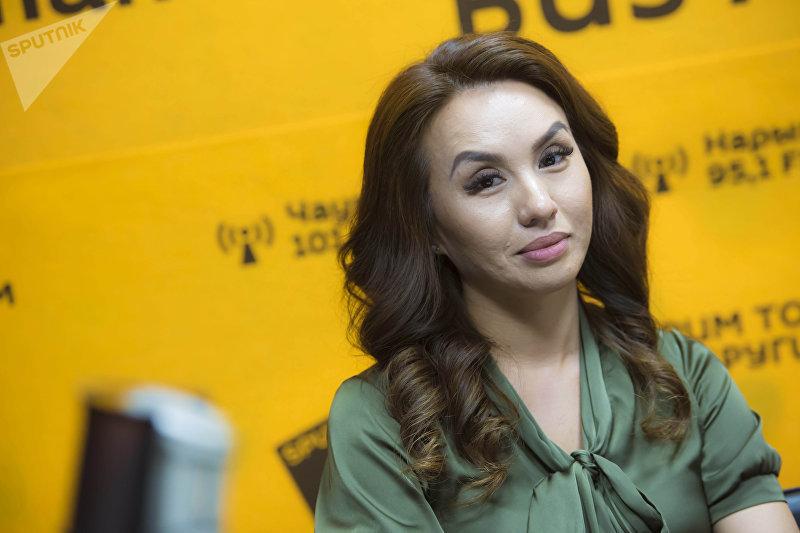 Обладательница титула Миссис Кыргызстан — 2018 Алтынкыз Казакбаева
