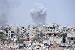 Ситуация в районе лагеря беженцев Ярмук в южном пригороде Дамаска