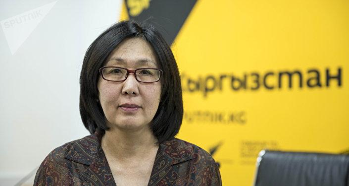 Специалист программы социальной политики ЮНИСЕФ Гульсана Турусбекова в студии Sputnik