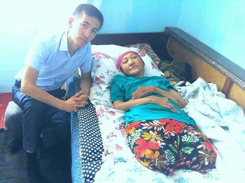 Организатор общественного фонда Кайрымдуу бол!, предприниматель Азамат Байматов