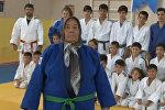 Бабушка открыла для себя дзюдо в 80 лет — видео из Турции
