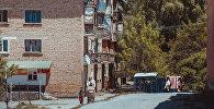 Многоэтажный жилой дом в городе Айдаркен. Архивное фото