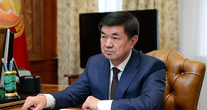 Премьер-министр Кырыгзстана Мухаммедкалый Абылгазиев