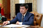 Архивное фото премьер-министра Кырыгзстана Мухаммедкалыя Абылгазиева
