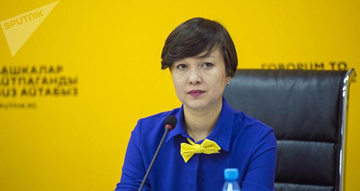 Президент общественного фонда Прима Виктория Юртаева. Архивное фото
