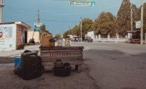 Продажа ГСМ на обочине дороги. Архивное фото