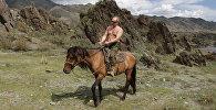 Архивное фото Владимира Путина на отдыхе