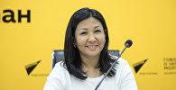 Назначенная вице-мэром Бишкека по социальному блокуАйжан Чыныбаева. Архивное фото