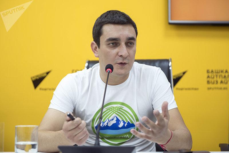 Директор ОФ Жашыл билик Андреев Дмитрий