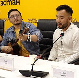 Это стоит послушать! В Бишкеке алтайцы продемонстрировали горловое пение