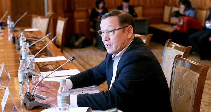 Депутат ЖК Осмонбек Артыкбаев