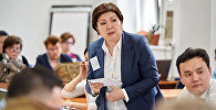 Кандидат экономических наук, ректор Дипломатической академии МИД КР Чинара Адамкулова. Архивное фото