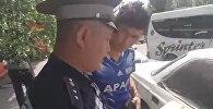 За час оштрафованы 23 водителя. Видео с рейда Маяк в Бишкеке