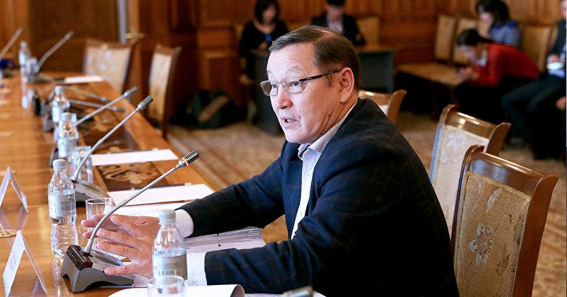 Депутат ЖК Осмонбек Артыкбаев. Архивное фото