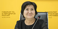Билим берүү жана илим министринин орун басары Надира Жусупбекова. Архив