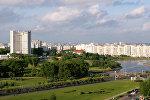 Вид на город Минск. Архивное фото