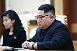 Архивное фото лидера КНДР Ким Чен Ына