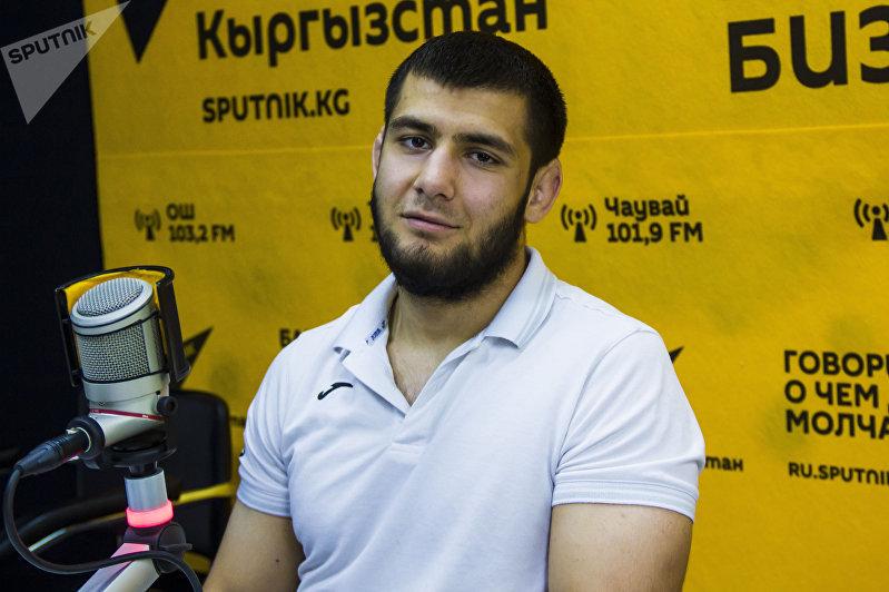 Чемпион Азии по джиу-джитсу Абдурахманхаджи Муртазалиев во время интервью корреспонденту Sputnik Кыргызстан