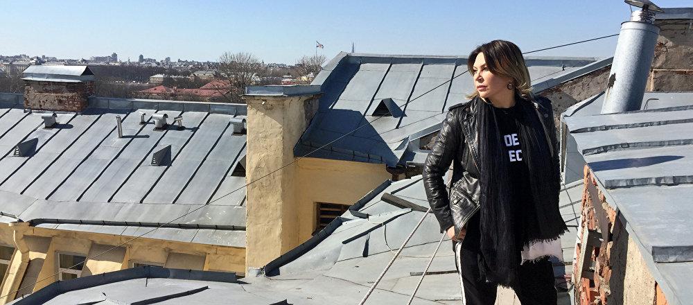 Солистка группы Город 312 Светлана Назаренко