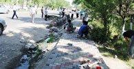 Ош шаарынан тарта калаага караштуу Озгур айылына чейин жаңы тротуар курулуп жатканын мэриянын маалымат кызматынан билдиришти