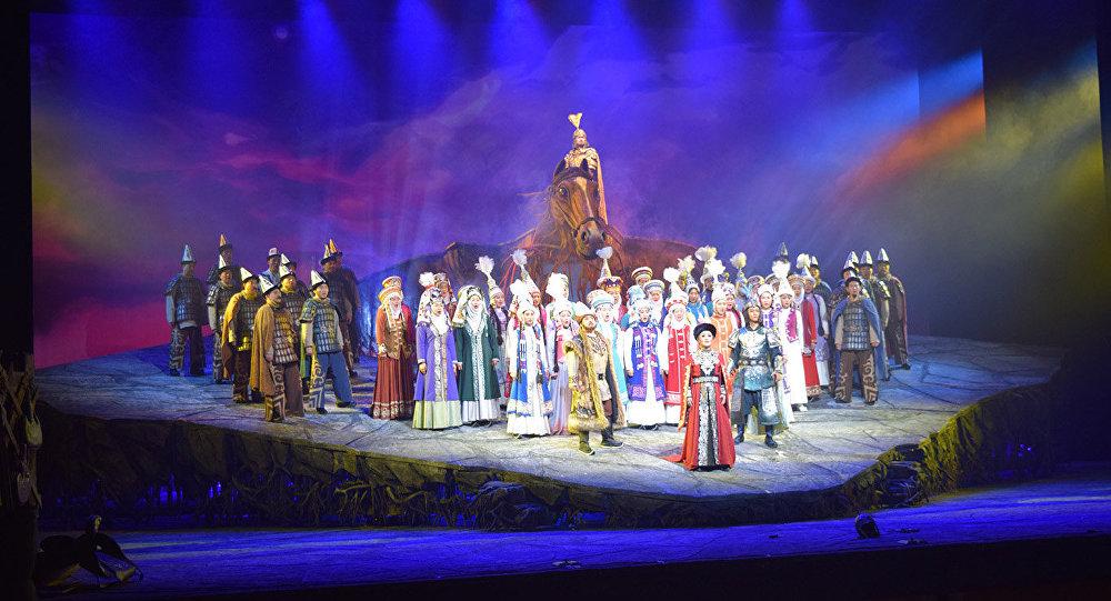Манас операсы. Архивдик сүрөт