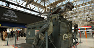 Выставка юрского мира Waterloo в центре Лондона