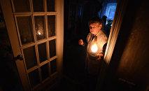 Доме без электричества. Архивное фото