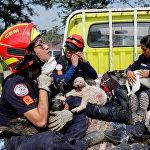 Последствия извержения вулкана Фуэго в Гватемале