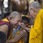 Встреча Далай-ламы с тибетской молодежью в Дармсале
