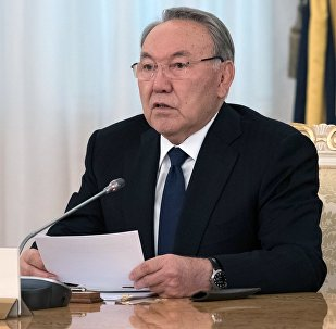 Архивное фото президента Республики Казахстан Нурсултана Назарбаева