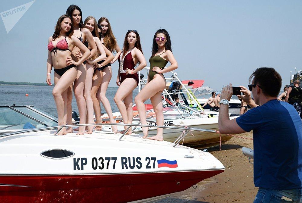 Открытие летнего сезона Aquafest 2018 в Хабаровске