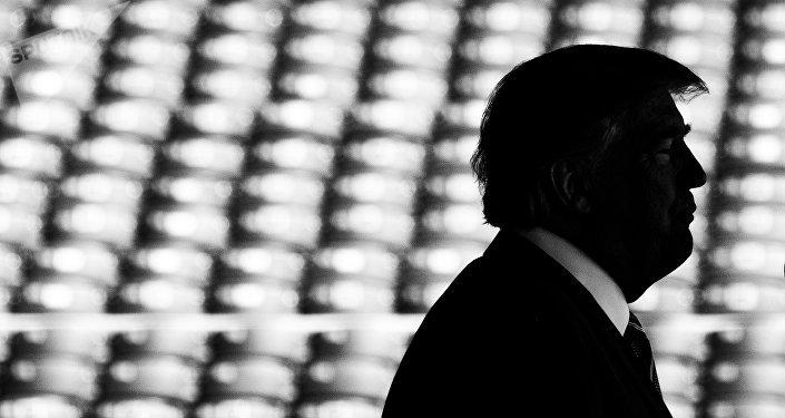 АКШ президенти Дональд Трамптын архивдик сүрөтү