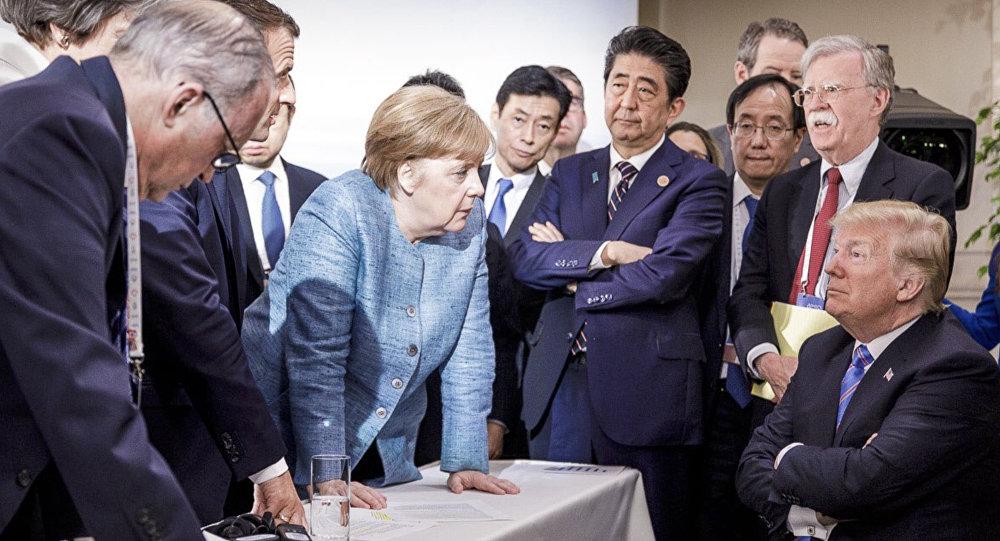 Саммит лидеров G7 в Квебеке