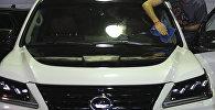 Внедорожник Lexus LX 570. Архивное фото