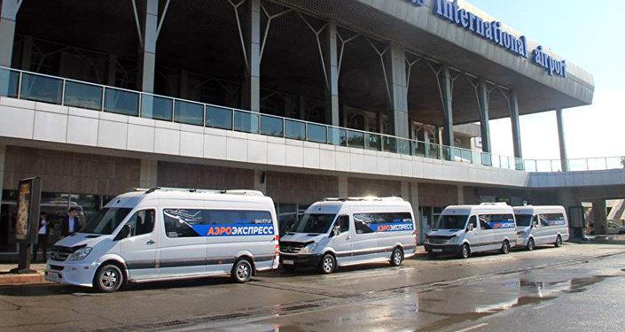 Маршрут Бишкек — аэропорт Манас