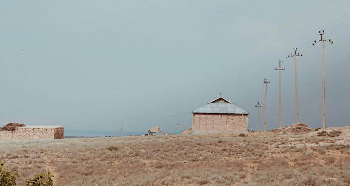 Заброшенные жилые дома в приграничном с Таджикистаном селе. Архивное фото