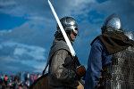 Участники фестиваля исторической битвы. Архивное фото