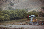 Нефтяная платформа в Баткенской области. Архивное фото