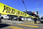 Сотрудники полиции США на месте происшествия. Архивнео фото