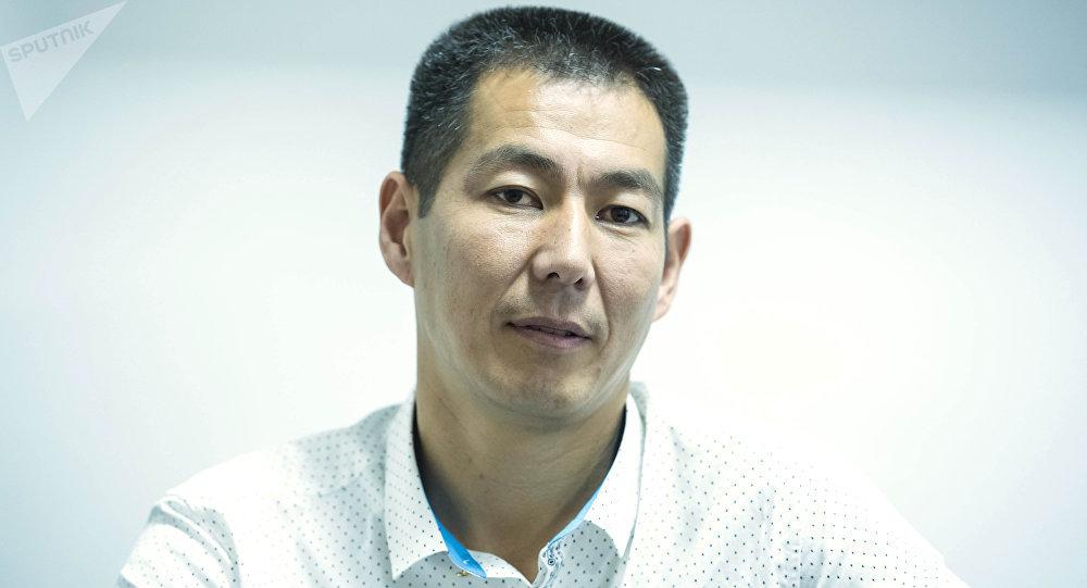 Заместитель главного врача Национального госпиталя Кыргызстана Бакыт Тологонов. Архивное фото
